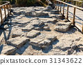 Ruin of ancient city Troy. Turkey 31343622
