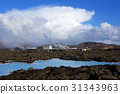 Geothermal bath Blue Lagoon in Iceland 31343963