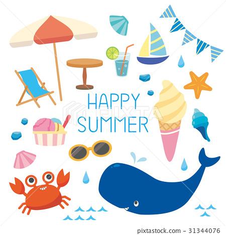 ฤดูร้อน,หน้าร้อน,ร่มกันแดด 31344076