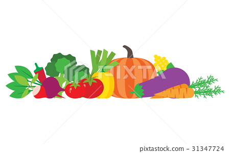 Set of fresh vegetables 31347724
