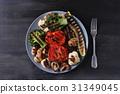 Grilled vegetables 31349045