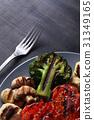 Grilled vegetables 31349165