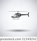 Police helicopter icon 31349242