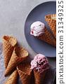 Ice cream cone 31349325