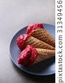 Ice cream cone 31349456