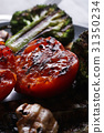 Grilled vegetables 31350234
