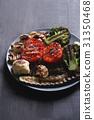 Grilled vegetables 31350468