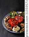 Grilled vegetables 31350571