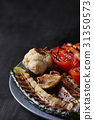 Grilled vegetables 31350573