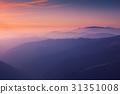 hill mountain sunset 31351008