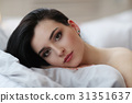 Woman in bed 31351637