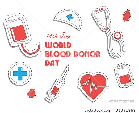 World blood donor day. International holiday 31351868
