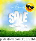 summer, sale, background 31359166