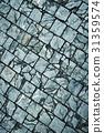 Cracks stone stone pavements 31359574