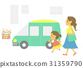 car, parenthood, parent and child 31359790