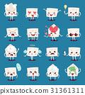 Envelope message emojji character emotions face 31361311