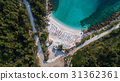 Marble beach (Saliara beach), Thassos, Greece 31362361