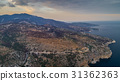 aerial view of the Thassos island, Greece 31362363