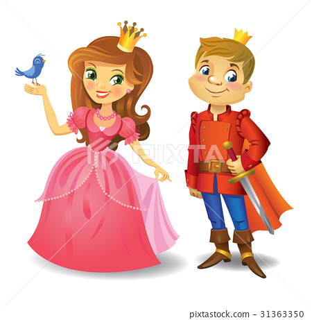 Beautiful princess and prince 31363350