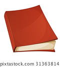 Red Book Isolated 31363814