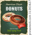 Retro Fast Food Donuts Poster 31363827
