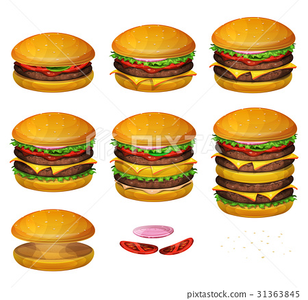 American Burgers All Size 31363845