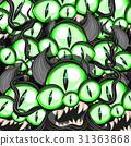 halloween, monster, eye 31363868