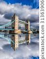 Tower Bridge in London, England, UK 31363906