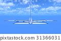 飞机 飞翔 客用飞机 31366031