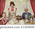 風格 早餐 家庭 31369685