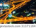 夜高速公路在泰國首都曼谷 31371164