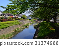 kitano, early summer, river 31374988
