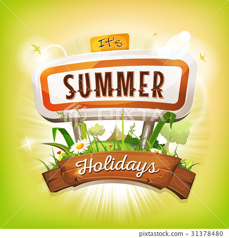 Summer Time Background 31378480