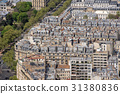 paris roofs and building cityview 31380836