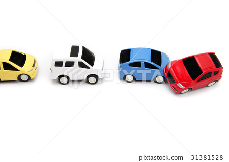 Traffic accident image reverse run - Stock Photo [31381528