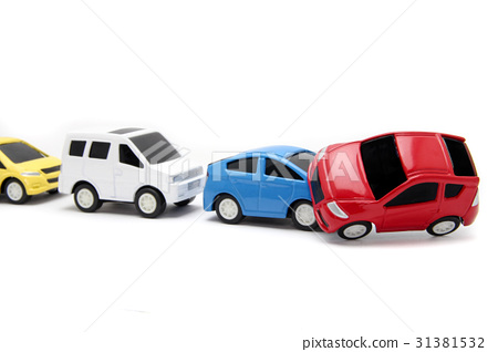Traffic accident image reverse run 31381532
