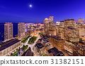 Boston Financial District Cityscape 31382151
