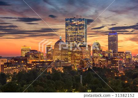 Boston Massachusetts Skyline 31382152