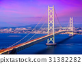 Akashi Kaikyo Bridge in Japan 31382282
