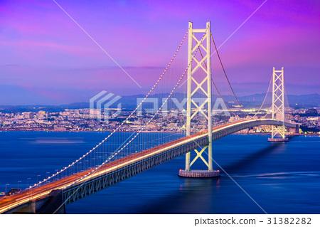 Akashi Kaikyo Bridge in Japan 31382282