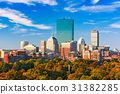 Boston, Massachusetts Skyline 31382285