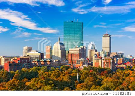 Boston, Massachusetts Skyline 31382285