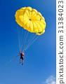 parachute, skydiving, sky 31384023