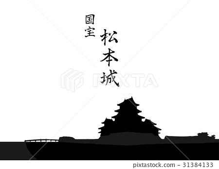 國寶松本城堡 31384133
