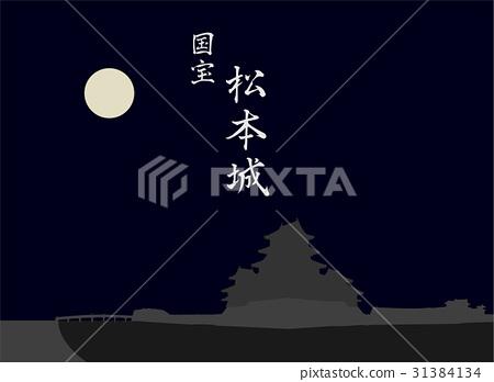 National Treasure Matsumoto Castle 31384134
