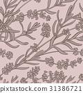 lavender vector  pattern 31386721