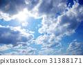 Blue sky 31388171