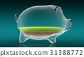 bank, pig, 3d 31388772