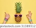 fashion, pineapple, YES 31389312