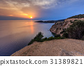 Sunset in Thassos, Greece 31389821